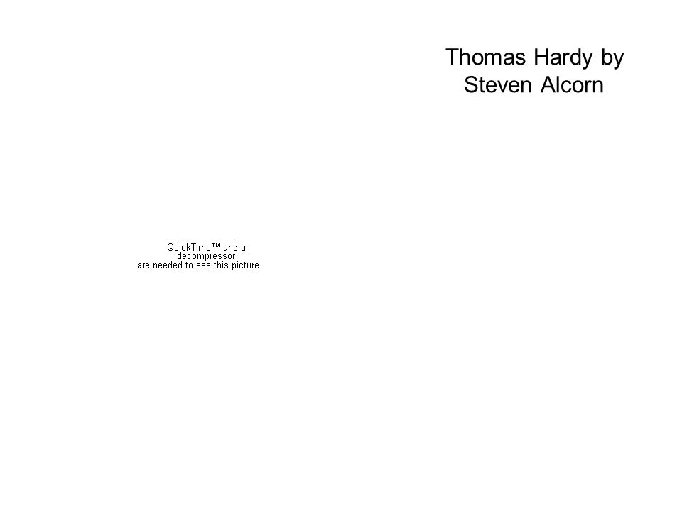 Thomas Hardy by Steven Alcorn