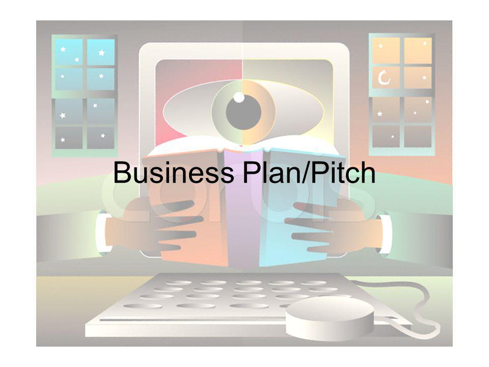 Business Plan/Pitch