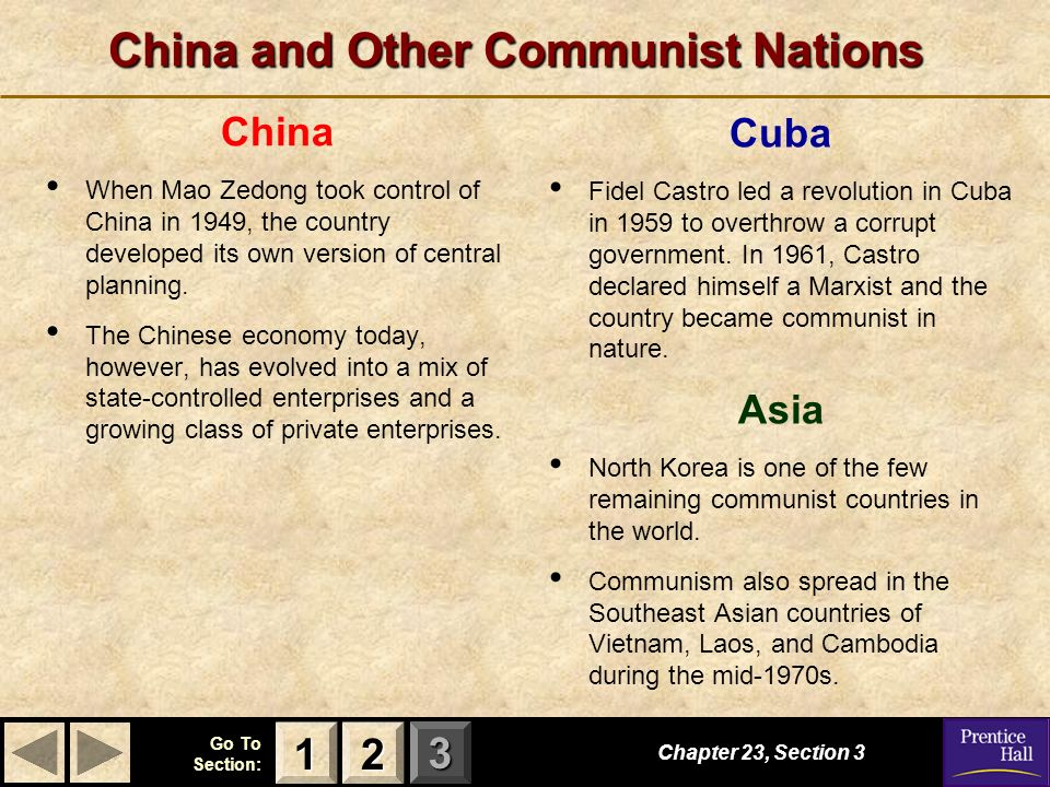 123 Go To Section: China and Other Communist Nations Cuba Fidel Castro led a revolution in Cuba in 1959 to overthrow a corrupt government. In 1961, Ca