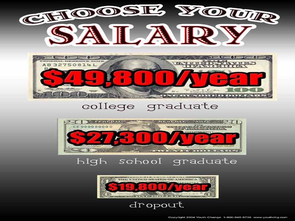 …and are you interested in tripling your salary…