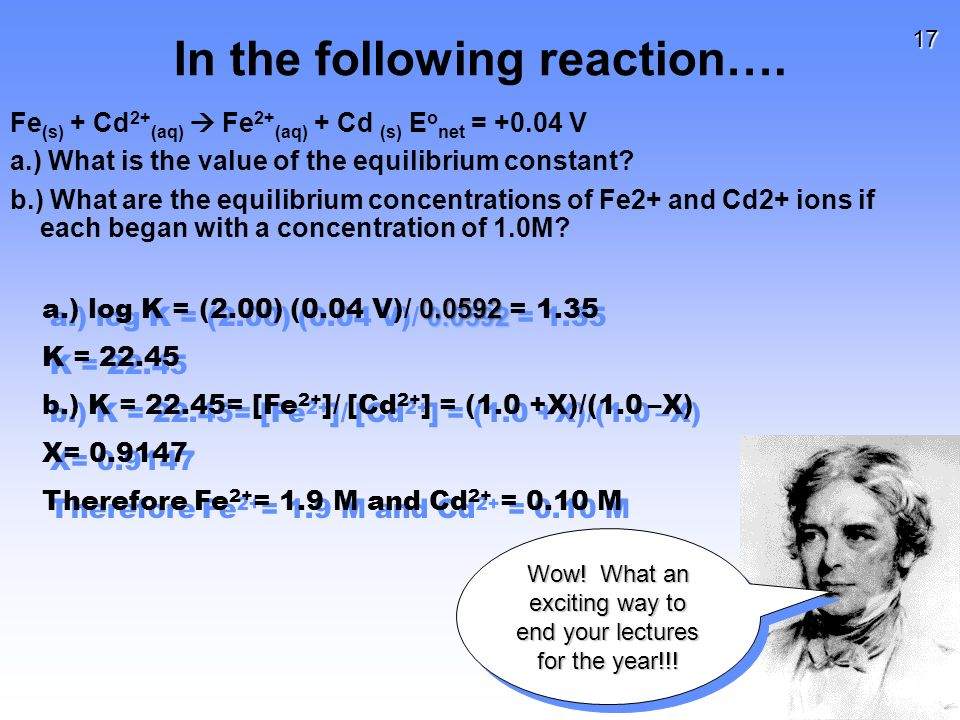 17 In the following reaction….