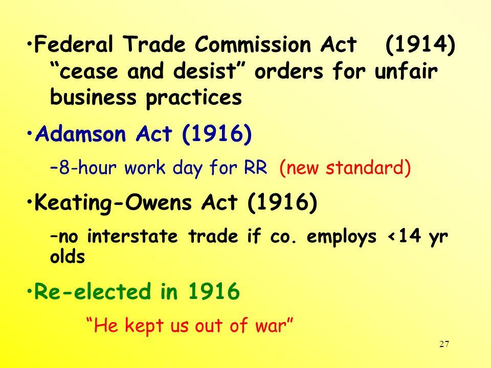 28 Progressive amendments 16 17 18 19