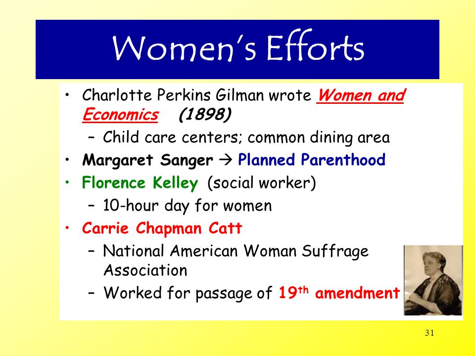 32 Woman Suffrage Before 1920