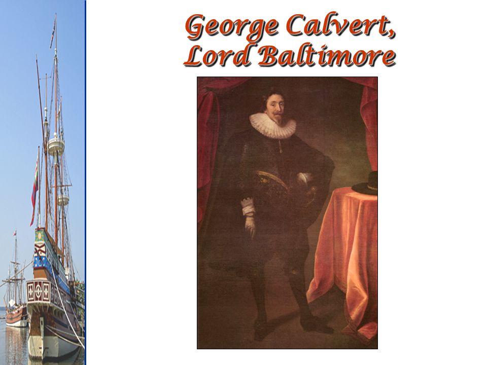 George Calvert, Lord Baltimore