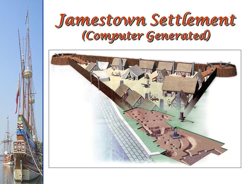 Jamestown Settlement (Computer Generated)