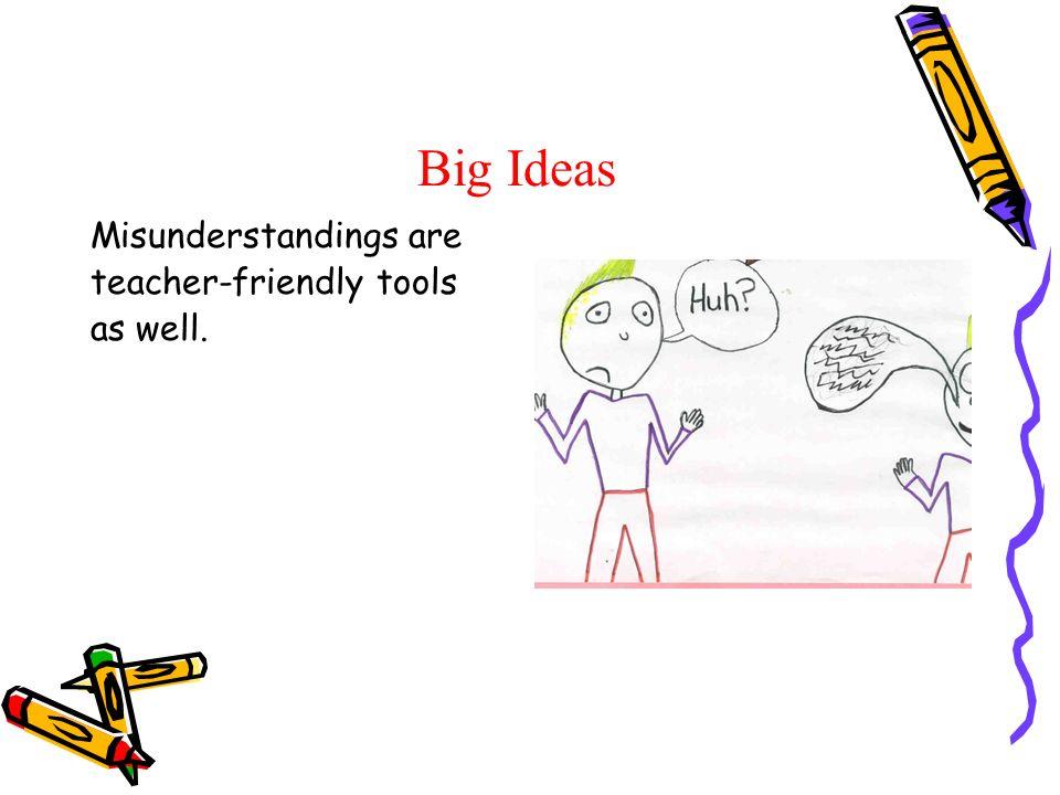 Big Ideas Misunderstandings are teacher-friendly tools as well.