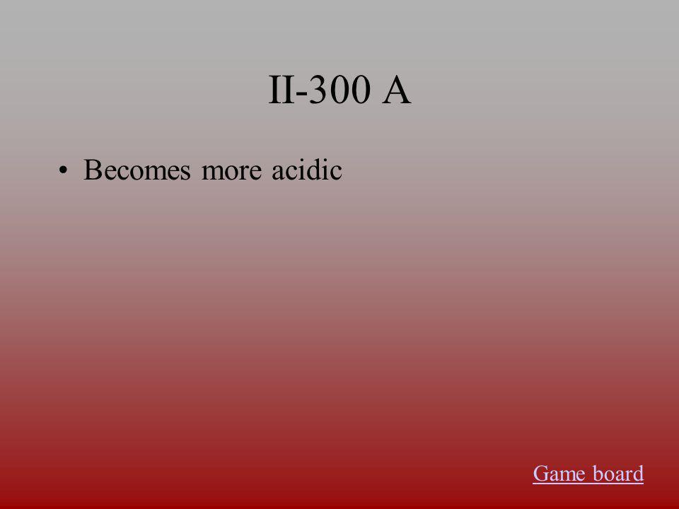 II-200 A Fluorine Game board