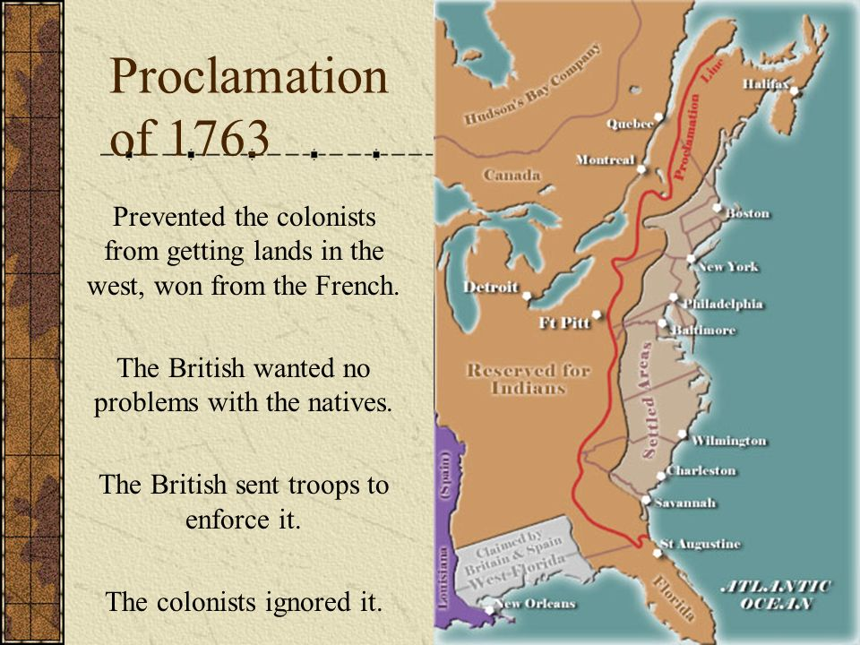Events that led to organization and resistance… The Stamp Act The Townsend Acts The Boston Massacre The Boston Tea Party The Intolerable Acts Lexington and Concord