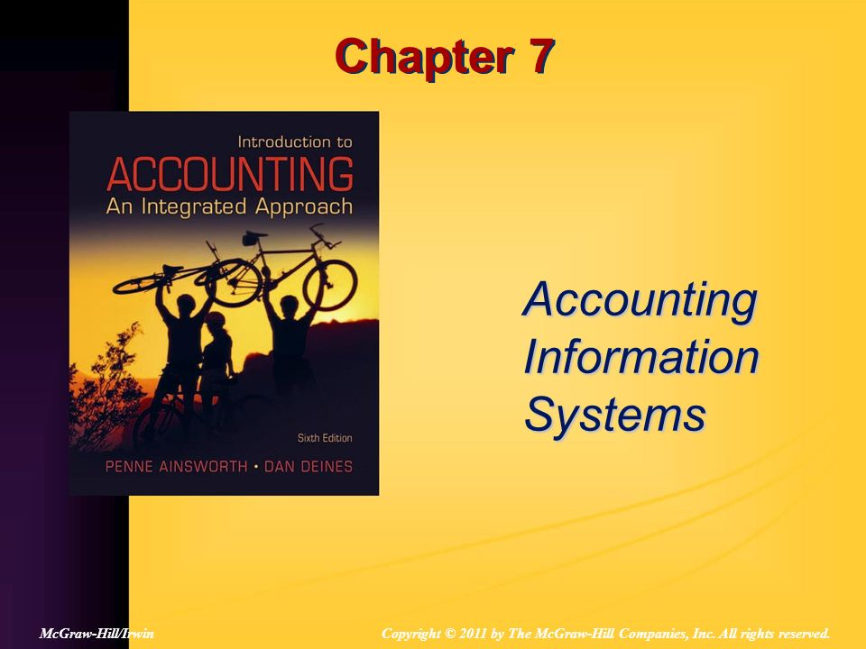 7-2 What are the 3 Characteristics of an Accounting Event.