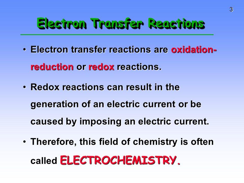 4 Why Study Electrochemistry.