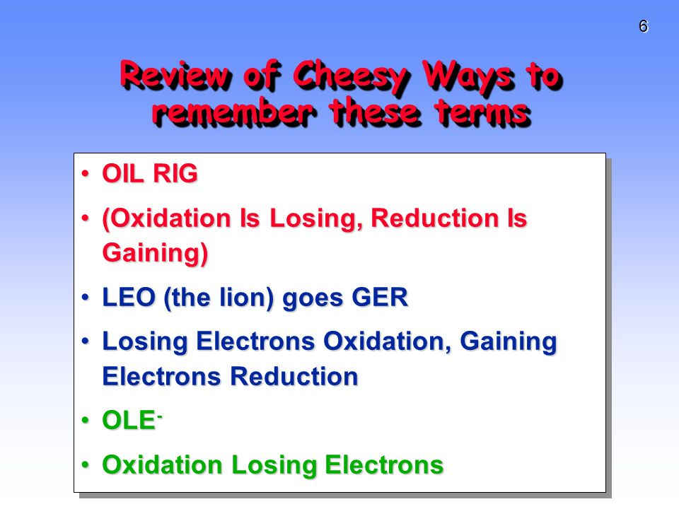 7 Oxidation Haiku! Lost an electron But now feeling positive Oxidized is cool!