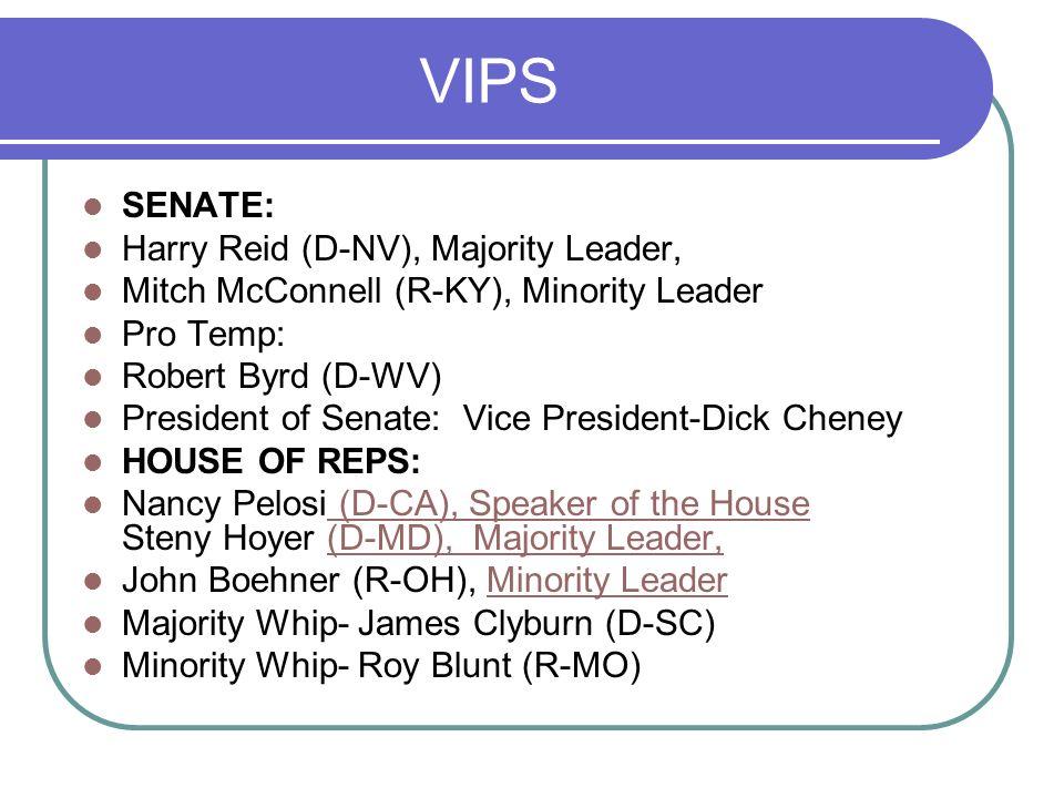 Representatives of the People Senators and representatives are elected to represent people.