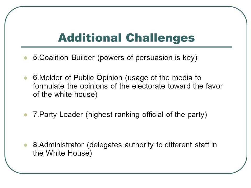 Over the last 50 years has presidential power increased or decreased.