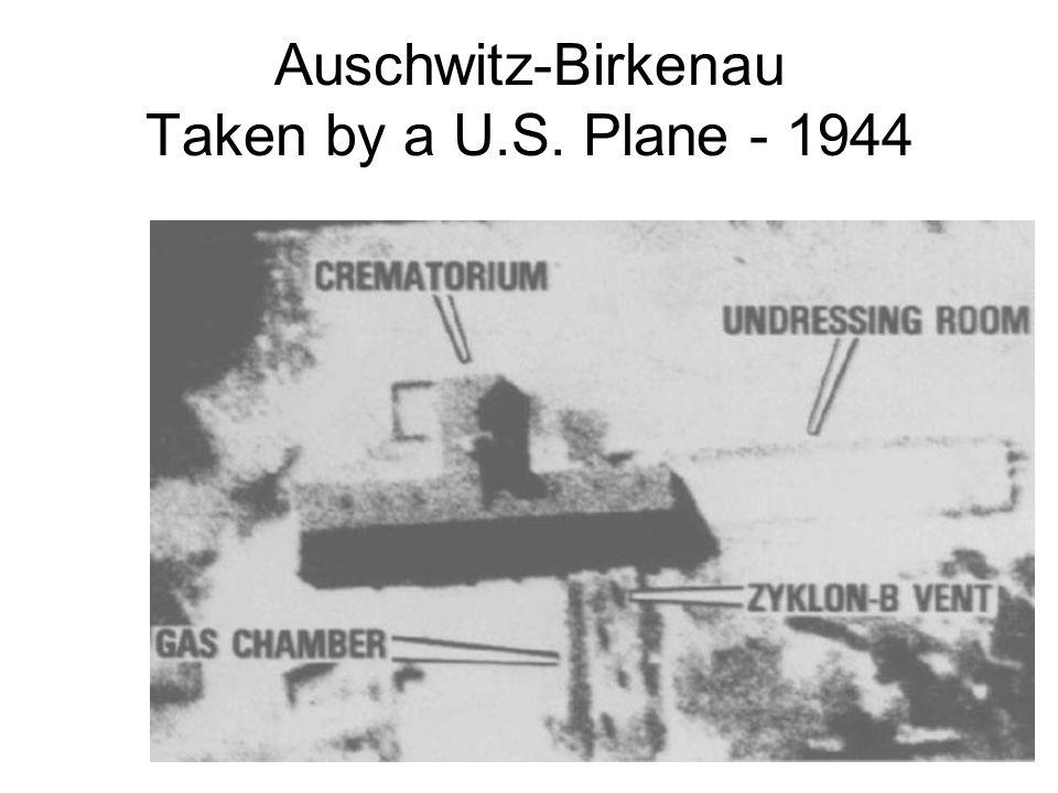 Auschwitz-Birkenau Taken by a U.S. Plane - 1944