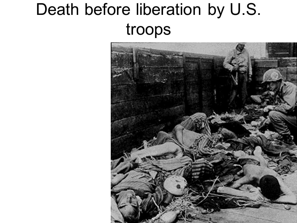 Death before liberation by U.S. troops