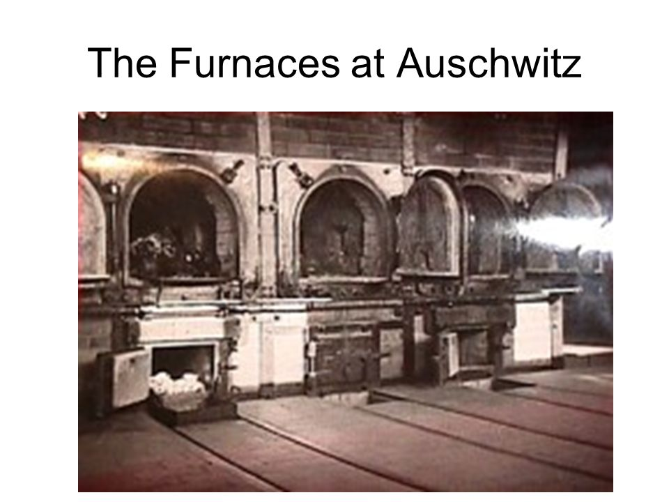 The Furnaces at Auschwitz