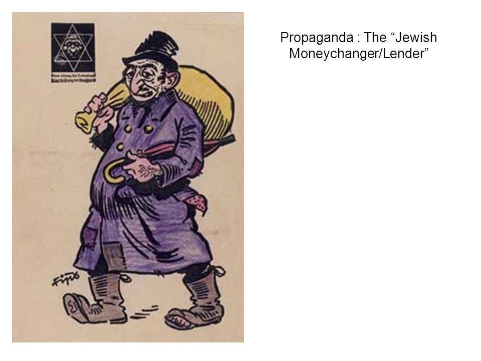 Propaganda : The Jewish Moneychanger/Lender