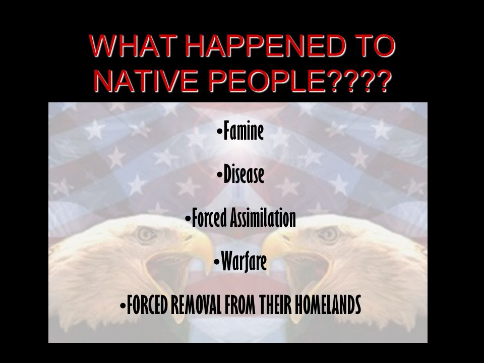 WHAT HAPPENED TO NATIVE PEOPLE???.