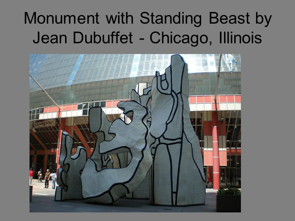 Monument with Standing Beast by Jean Dubuffet - Chicago, Illinois