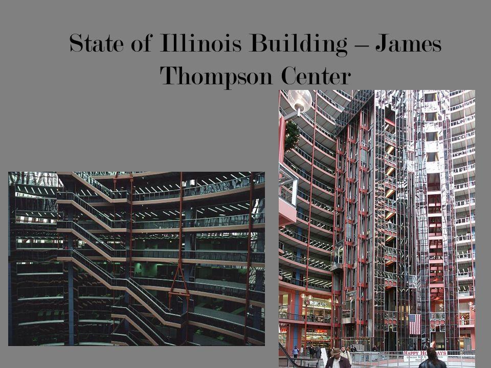 State of Illinois Building – James Thompson Center