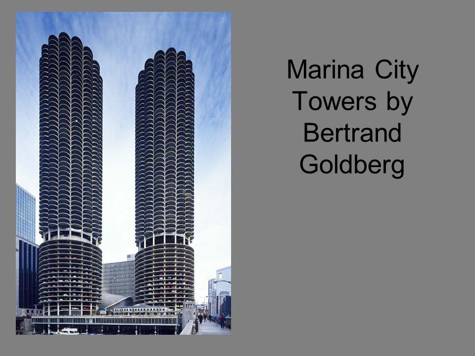Marina City Towers by Bertrand Goldberg