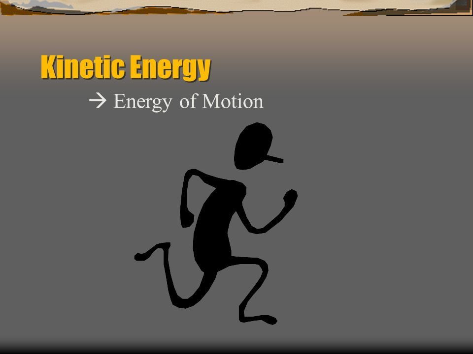 Potential Energy The energy an object has by virtue of its position in a gravitational field. The higher an object above the ground the more potential