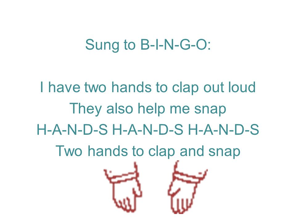 Name Song Tune: Bingo Was his Name O (use preschool childs name) There is a child that I know best And Cole is his name oh C O L E, C O L E, C O L E, And Cole is his name oh (Point a finger, one hand on hip) (Raise hands) (clap)
