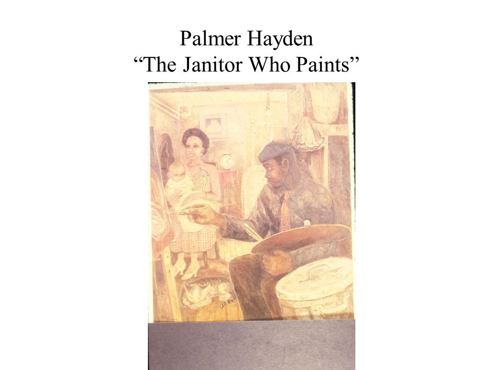 Palmer Hayden The Janitor Who Paints