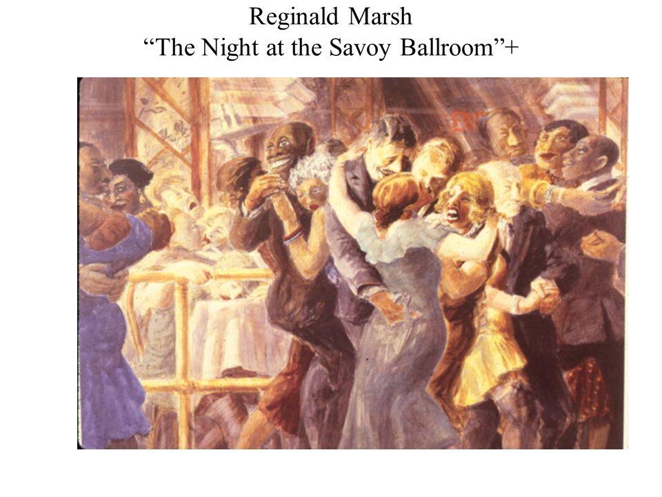 Reginald Marsh The Night at the Savoy Ballroom+