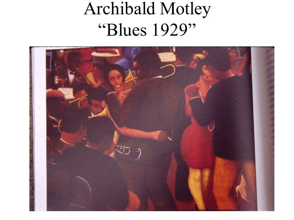 Archibald Motley Blues 1929