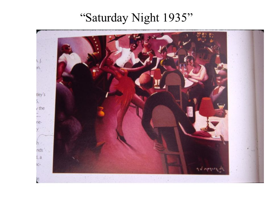 Saturday Night 1935