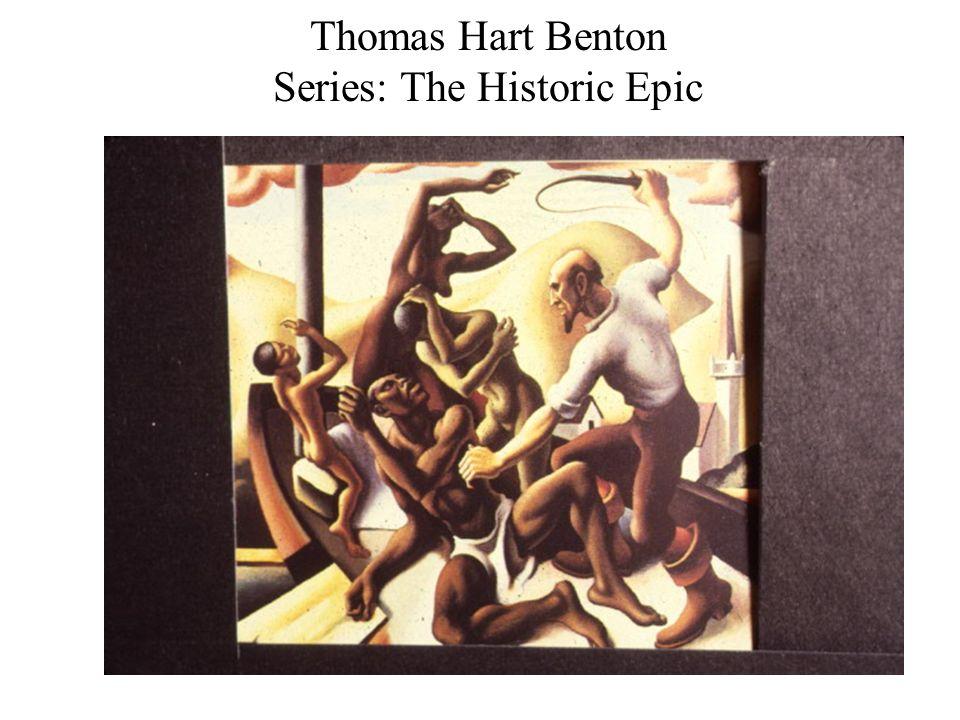 Thomas Hart Benton Series: The Historic Epic