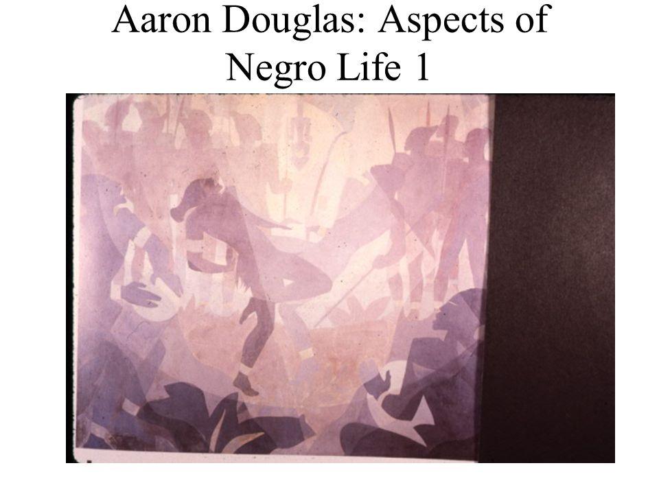 Aaron Douglas: Aspects of Negro Life 1