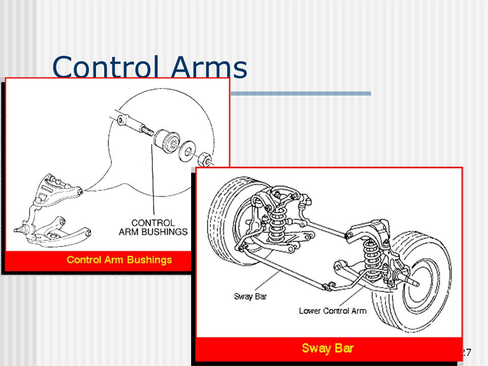 27 Control Arms