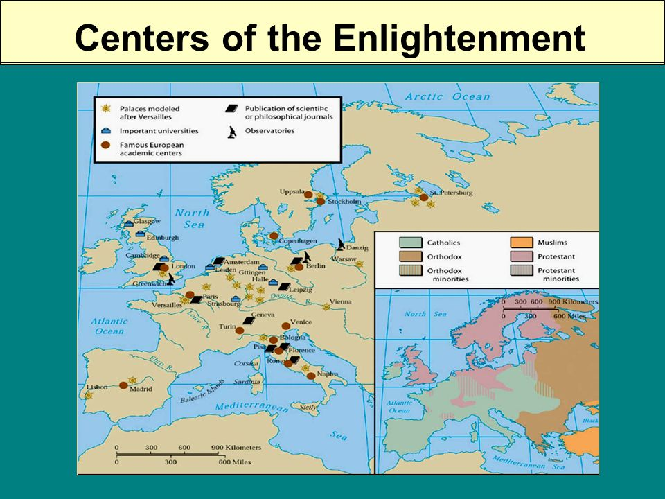 The Origins of Enlightenment? RELIGIOUS: RELIGIOUS: Gradually, highly educated Protestants & Catholics thought more about Gods work as revealed throug