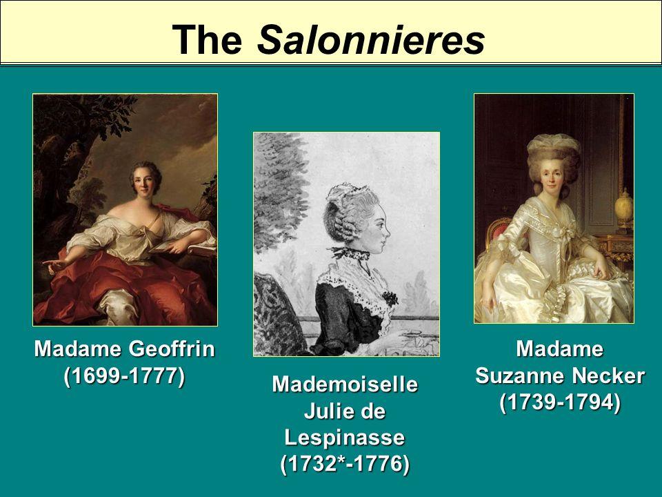 Madame Geoffrins Salon