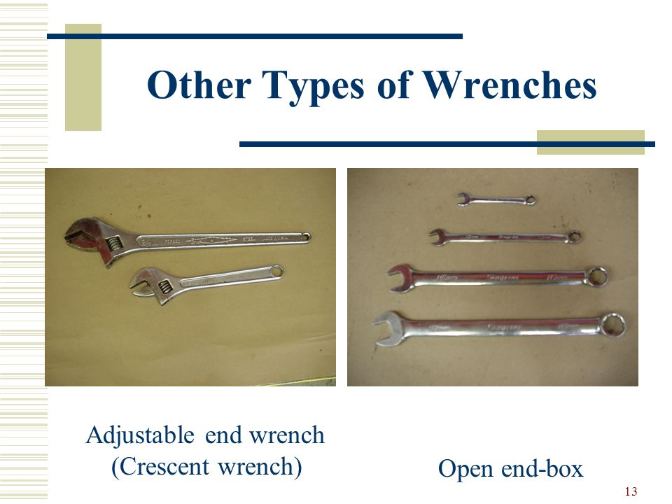12 Wrenches