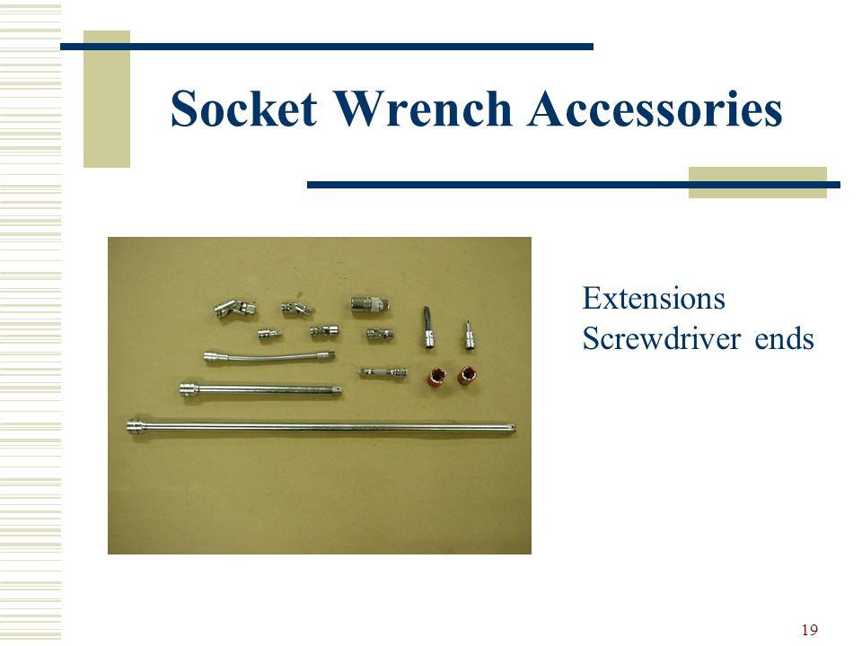 18 Specialty Sockets Impact & Standard Socket Impact sockets Spark plug sockets Universal sockets O2 sensor socket 4 & 8 point sockets