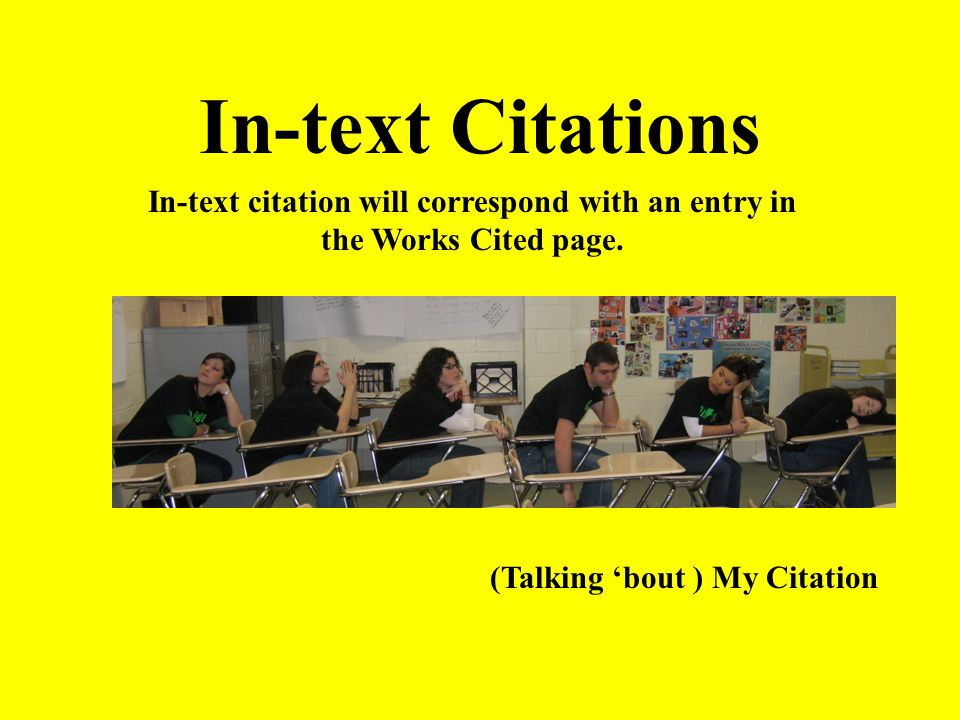 Adding Words to Quotations: [Use Brackets] If you add a word or words in a quotation, you should put brackets around the words to indicate that they are not part of the original text.