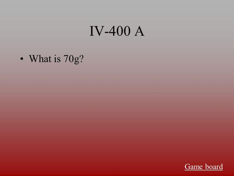 IV-300 A What is 21470J Game board