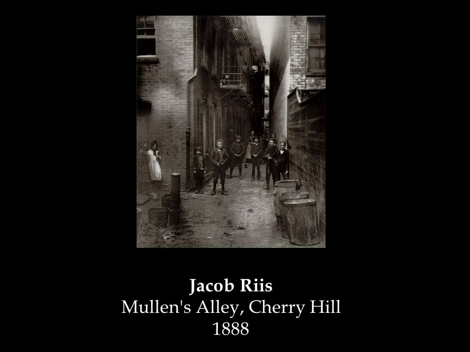 Jacob Riis Mullen's Alley, Cherry Hill 1888