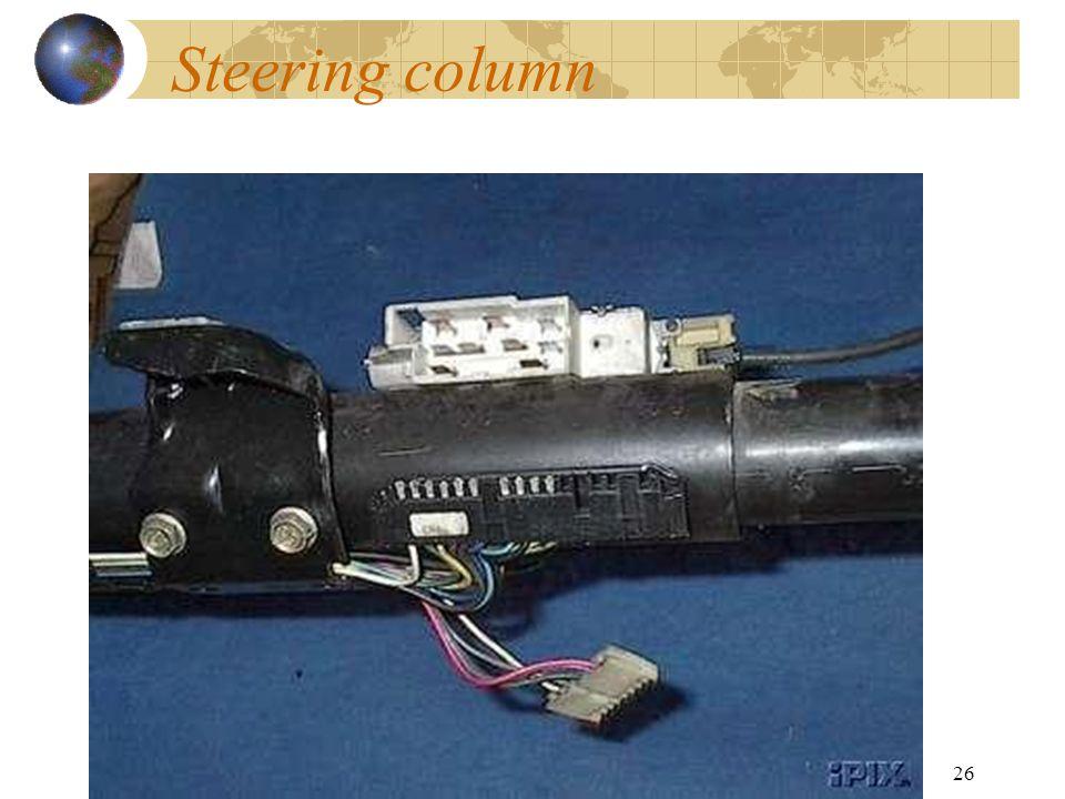 26 Steering column