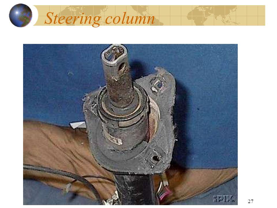 27 Steering column