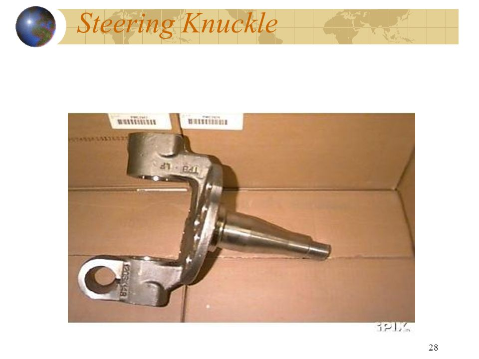 28 Steering Knuckle