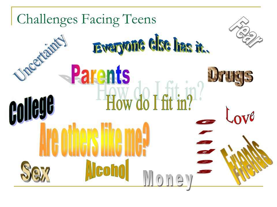 Challenges Facing Teens