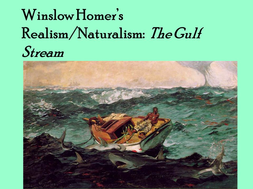 Winslow Homers Realism/Naturalism: The Gulf Stream