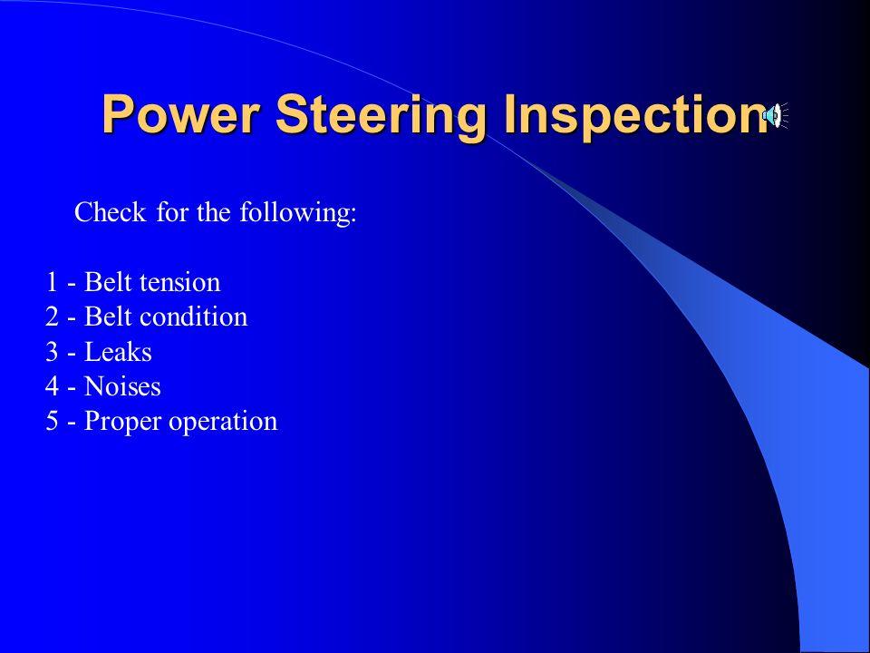 Power Rack & Pinion Steering