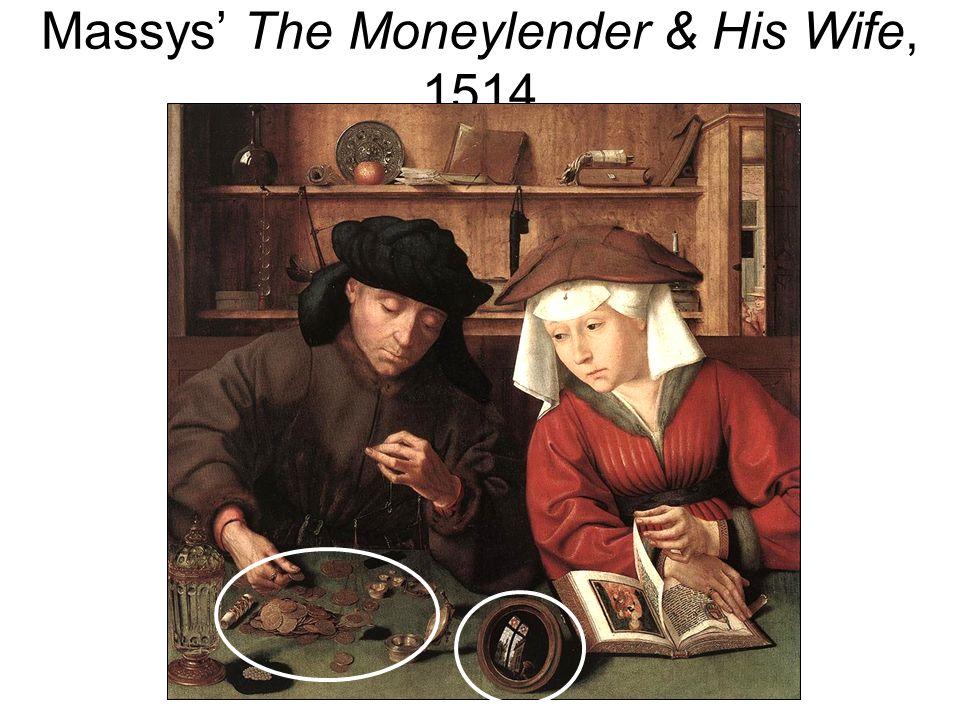 Massys The Moneylender & His Wife, 1514