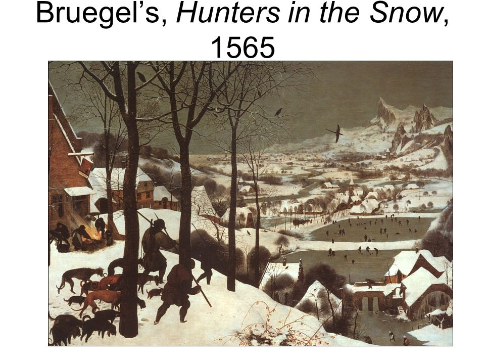 Bruegels, Hunters in the Snow, 1565
