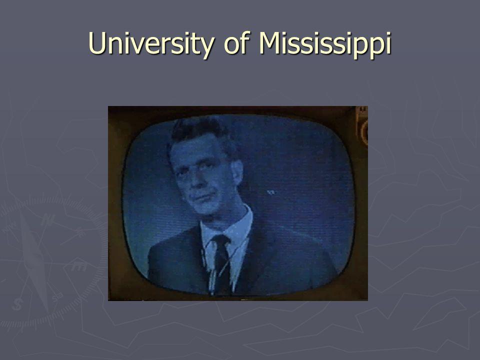 1962 Ole Miss James Meredith-1 st black student